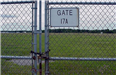 Airport - June 2001 - Airport runway fence