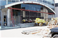 Hall of Justice - July 10 2001 - side view of atrium work area