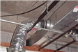 Hall of Justice - January 2002 - third floor air duct