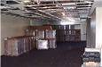 Hall of Justice - June 2002 - furniture staging area