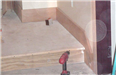 Hall of Justice - June 2002 - oak woodwork - hearing room