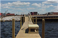Heritage Landing - August 14 2001 - pier and riprap from dock