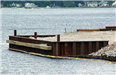 Heritage Landing - July 27 2001 - pier at the end of the peninsula