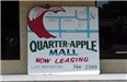 Apple Avenue Mall - July 27 2001 - sign