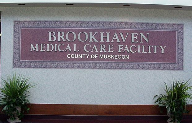 Brookhaven - May 2001 - facility sign