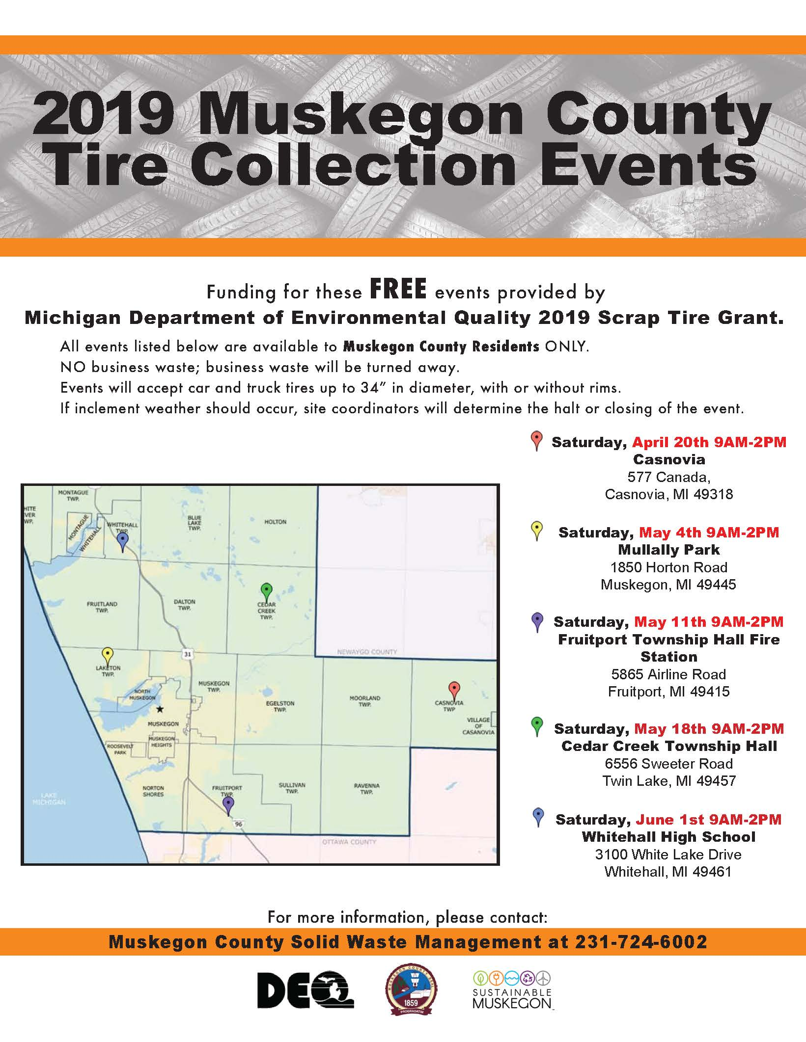 Tire Collection Events