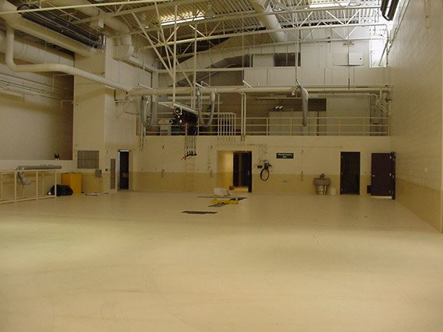 Muskegon Area Transit System (MATS) - October 22 2001 - mechanics area