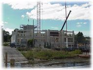 Balcom's Cove Condominiums - September 14 2001 - view from lake