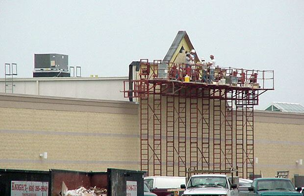 Lakes Mall - July 18 2001 - construction
