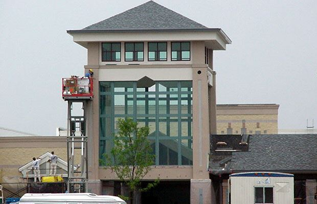 Lakes Mall - July 18 2001 - new entrance tower
